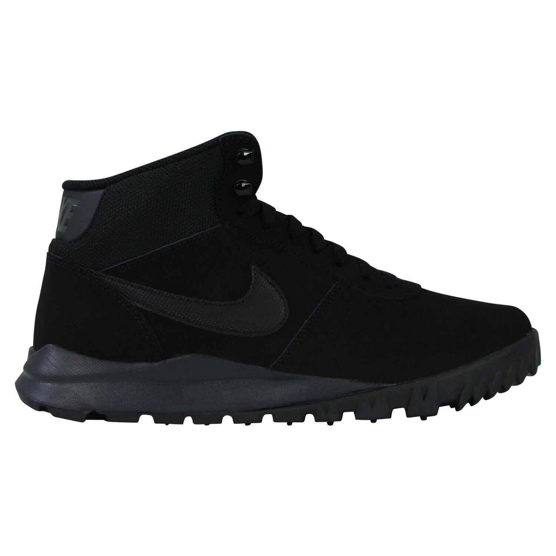 Nike Hoodland Leather Schuhe Stiefel Winterstiefel Herren 654888 090 Schwarz