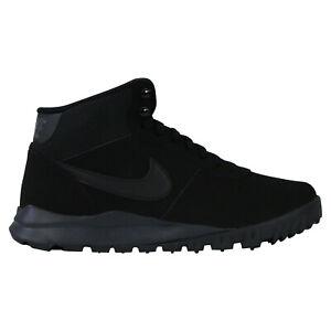 Details zu Nike Hoodland Leather Schuhe Boots Winterstiefel Herren 654888 090 Schwarz