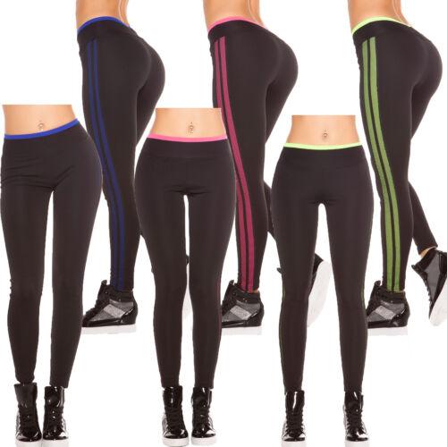Sport Leggings Fitness Leggins Active Treggins Jersey Pants Mesh Tights S 34 36