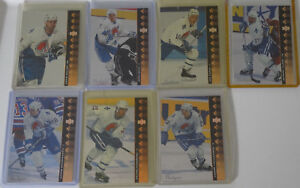 1994-95-Upper-Deck-UD-SP-Inserts-Quebec-Nordiques-Team-Set-7-Hockey-Cards