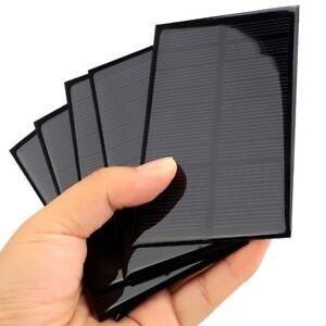 Célula solar 5V 1.25W módulo de portátil de 110x69mm Hágalo usted mismo de panel solar de carga pequeña