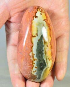 3-5-034-Polished-POLYCHROME-JASPER-Crystal-Palm-Stone-Madagascar-Africa