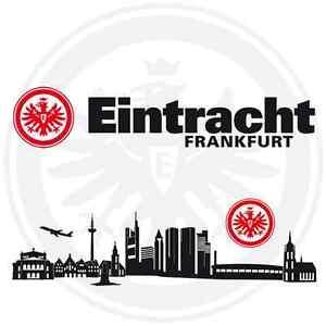eintracht frankfurt bundesliga sport fussball fan logo verein deko schriftzug ebay. Black Bedroom Furniture Sets. Home Design Ideas