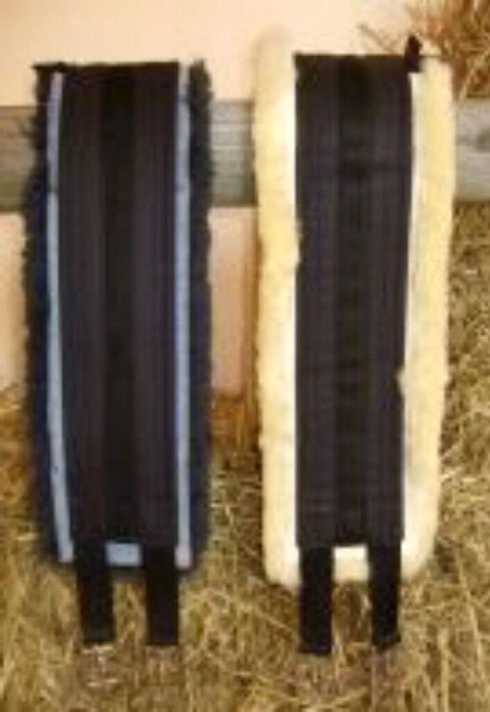 CHRIST HORSEDREAM MEDICAL LAMBSKIN LONG TWO, GIRTH, LAST TWO, LONG HUGE SAVING c9fede