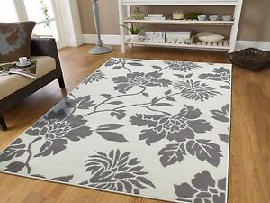 Image Is Loading Grey Modern Rugs 8x11 Tree Branch Area