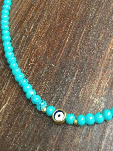 Nazar Amulett Boncuk Armband Kette türkisch blaues Auge OSMANLI Türkiye GÖZ n3