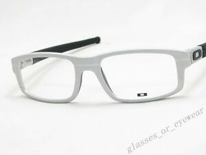 e7b37cb688b08 Image is loading Eyeglass-Frames-Oakley-PANEL-OX3153-0353-Raw-Aluminium-