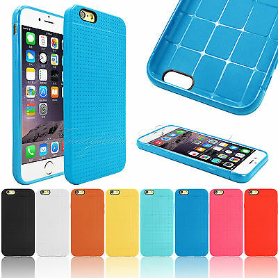 FOR APPLE iPhone 6 4.7 INCH SOFT TPU CASE SILICONE GEL COVER SLIM FIT SKIN