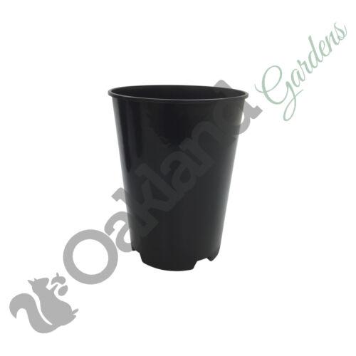 50 x Deep Rose Pots 3 Litre L Lt Plant Flower Pot Tall Plastic Black Strong