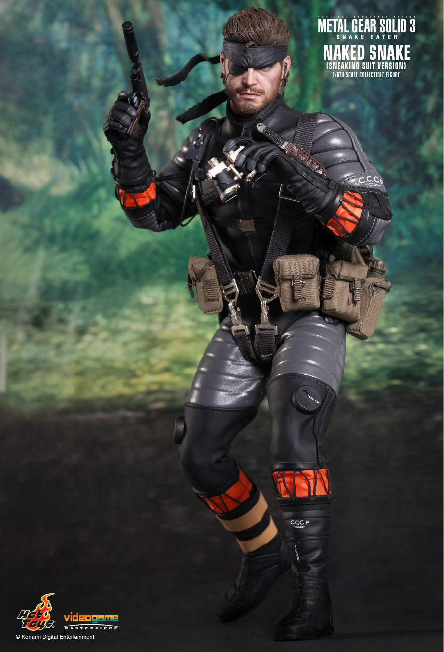 METAL GEAR SOLID 3 SNAKE EATER BIG BOSS FIGURE 30CM HOT TOYS 1 6 STATUE STATUE 1
