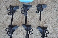 Marx Cavalry Black Saddles Reins Horse Western 1/32 54MM Toy Soldier