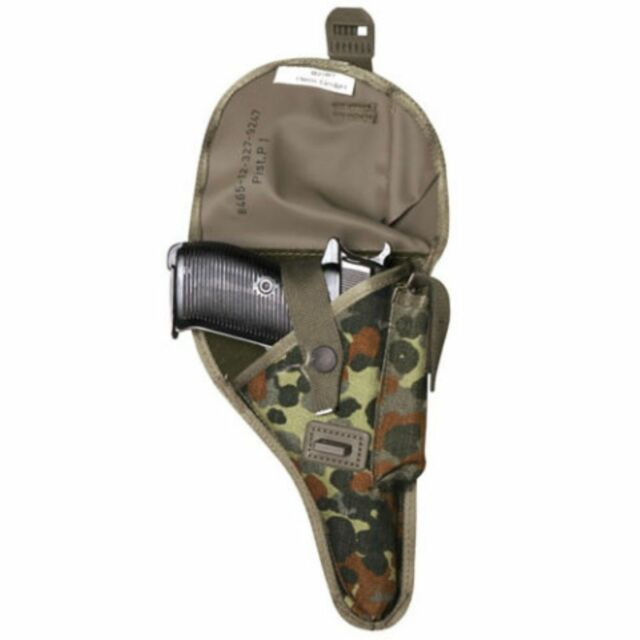 BW German Army Bundeswehr P1(P38) Walther Officer Holster with Adapter - New