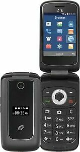 Total Wireless ZTE Z233vl 4g LTE Prepaid Flip Phone