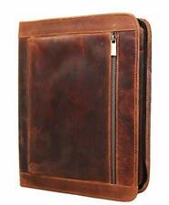 Handmade Genuine Leather Business Portfolio Professional Organizer Sleeves