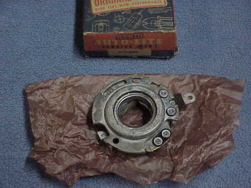 1935-49 Plymouth NOS MoPar Autolite Distributor BREAKER PLATE DeSoto Chrysler