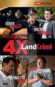 4-x-LANDKRIMI-Box-3-Manuel-Rubey-Gregor-Bloeb-Robert-Palfrader-4-DVDs-NEU