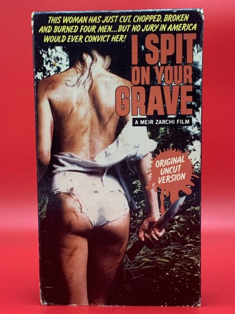 I Spit On Your Grave VHS Original Uncut Version Rare Cult Horror VERY GOOD