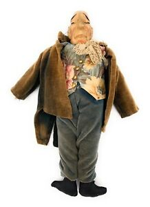 Vintage-Gruff-Old-English-Butler-Character-Doll