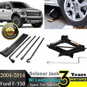 Image Is Loading For Ford F Spare Tire Jack Tool Kit