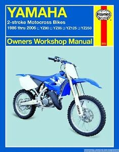 Yamaha 2 stroke motocross dirt bike shop serivce repair manual yz image is loading yamaha 2 stroke motocross dirt bike shop serivce sciox Images