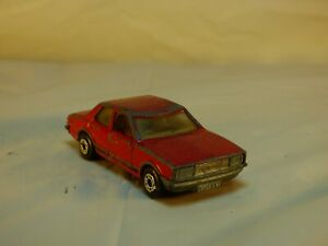 Vintage-1979-Lesney-Matchbox-Superfast-No-55-Ford-Cortina-Red-Mark-IV-Car-Toy