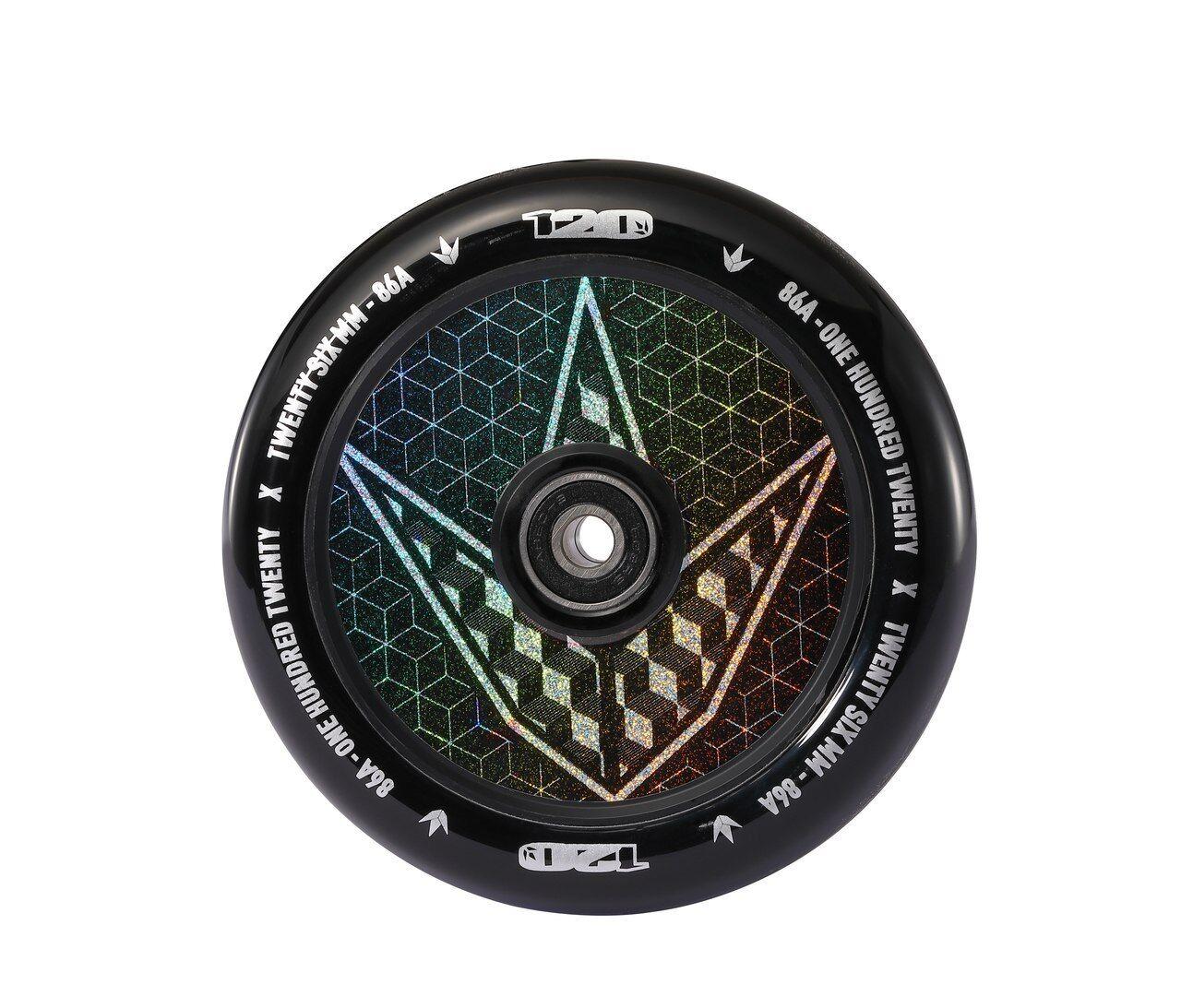 Envy Scooter Wheel Hollow Core 120mm - Geo Logo Hologram (Pair)