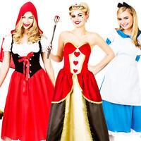 Fairytale Character Ladies Fancy Dress Storybook Book Day Week Womens Costume