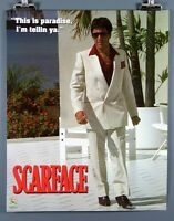 Scarface this Is Paradise, I'm Tellin Ya. 16x20 Inch Poster Al Pacino