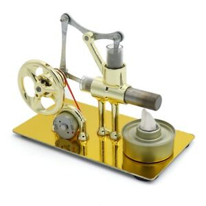Mini-Hot-Air-Stirling-Engine-Model-Generator-Motor-Steam-Power-Educational-Toy