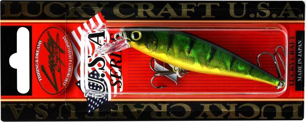LUCKY CRAFT Pointer 78-280 Aurora Green Perch