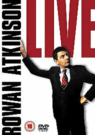 1 of 1 - ROWAN ATKINSON LIVE DVD FUNNY COMEDY