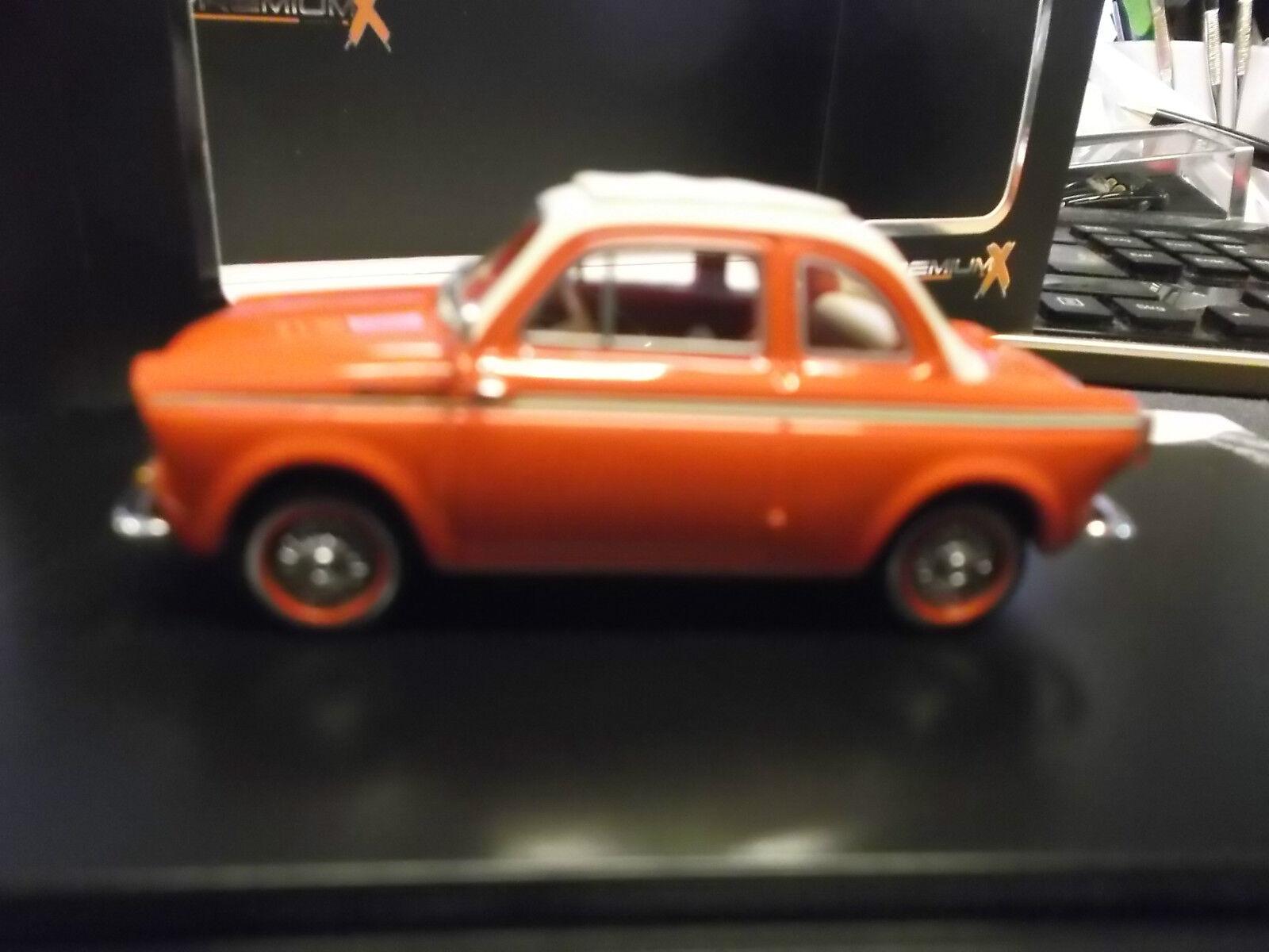 NSU vigneto FIAT 500 1960 rosso red resin PremiumX Ixo 1:43