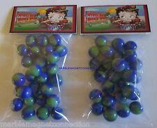 2 BAGS OF BETTY BOOP / MYRTLE BEACH BIKE WEEK ADVERTISING PROMO MARBLES