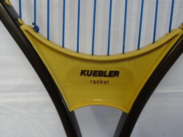 Antiker Tennisschläger KUEBLER 70   80 ger ger ger Jahre    Ausgezeichnete Qualität    Großartig    Schön In Der Farbe  673a2a