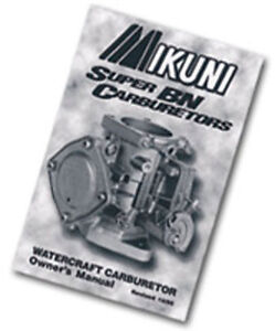 Manuel-utilisateur-carburateur-Mikuni-Super-BN