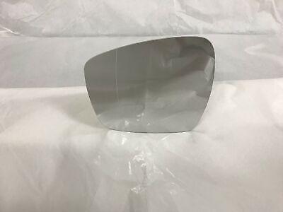 - Destro R.1350 Cromato meccanico Specchio Retrovisore specchietto esterno Solo Vetro con Biadesivo