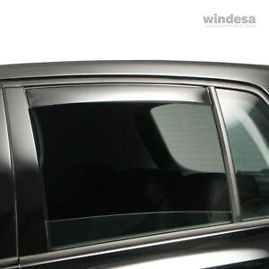 ClimAir CLI0042776 Windabweiser Master Hinten rauchgrau