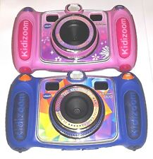 VTech Kidizoom Duo Digital Camera Pink OR Blue Kids Selfie Learning Games Toy