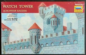 Zvezda-8526-Watch-Tower-Observation-Tower-Modelmaking-For-1-72-Figurines-V-7045