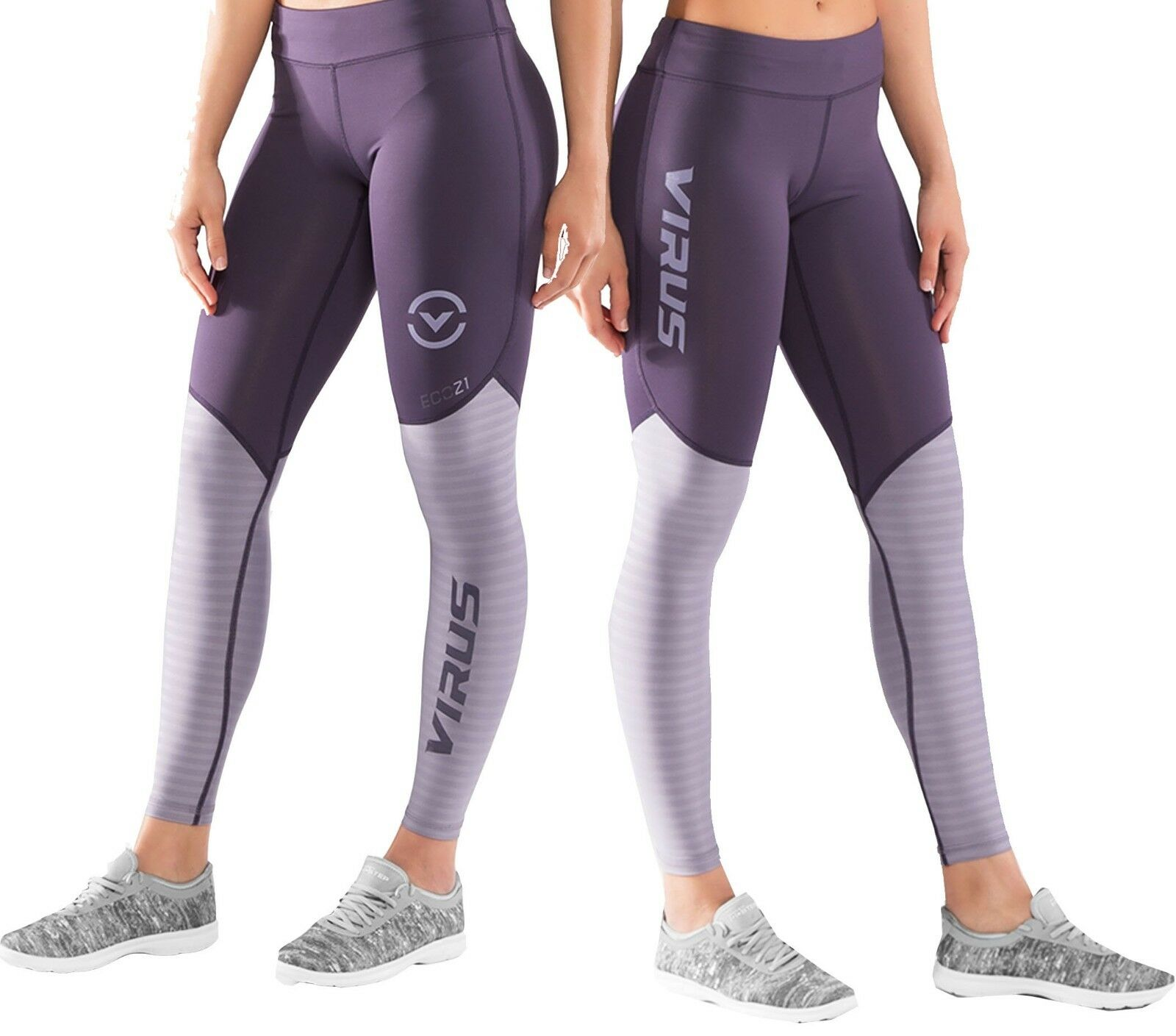 VIRUS WOMEN'S ECO21.5 STAY COOL V2 COMPRESSION PANTS   Crossfit