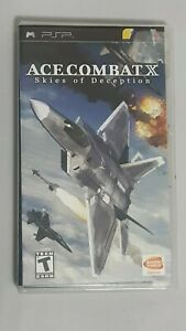 Ace-Combat-X-Skies-Of-Deception-PSP-2006-Complete-Manual-Case-Game-Disc