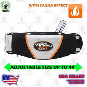 vibro shape belt vibrating massage belt with sauna effect ebay. Black Bedroom Furniture Sets. Home Design Ideas