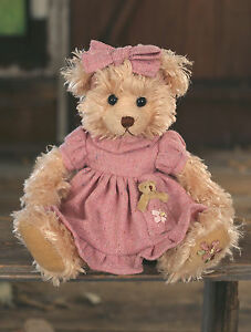 Teddy Bear 'Indianna' Settler Bears Handmade Dress Collectable Gift 25cms NEW