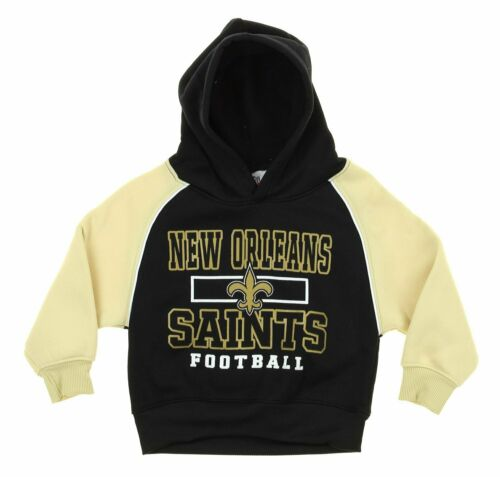 NFL Infant Toddlers New Orleans Saints FLC Team Hooded Pullover Hoodie