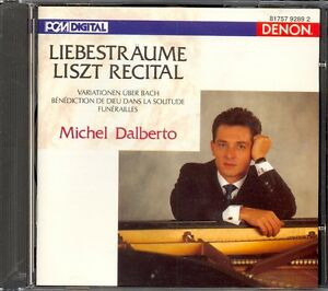 LISZT  Bach Variations  3 Liebestraume  Funerailles  Michel DALBERTO  Denon - <span itemprop='availableAtOrFrom'>High Wycombe, Buckinghamshire, United Kingdom</span> - LISZT  Bach Variations  3 Liebestraume  Funerailles  Michel DALBERTO  Denon - High Wycombe, Buckinghamshire, United Kingdom