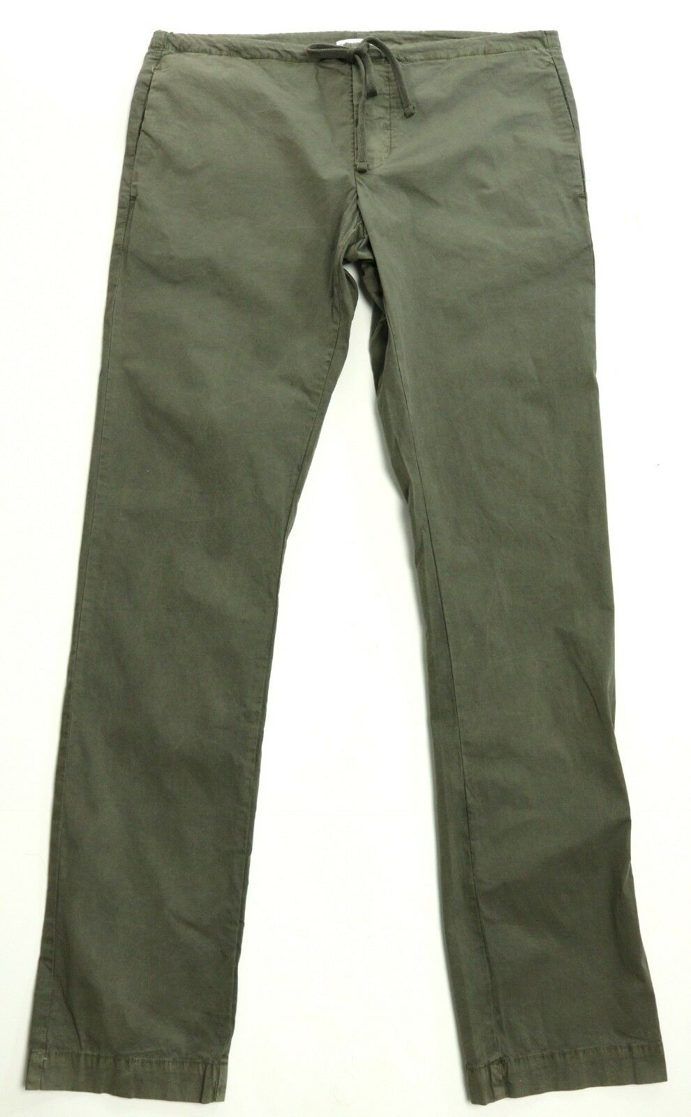New Womens James Perse Standard Fit Olive Drawstring Pants 0