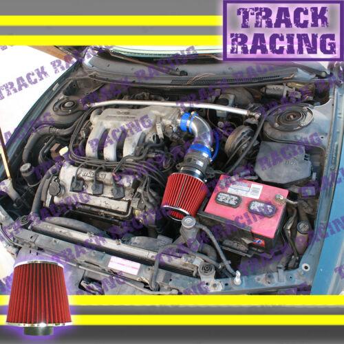 93 94 95-97 FORD PROBE GT MAZDA MX6 626 2.5 2.5L AIR INTAKE KIT Blue Red TB