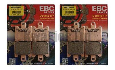 Yamaha FJR1300 B95 2016-2018 Set EBC Front /& Rear Sintered HH Brake Pads