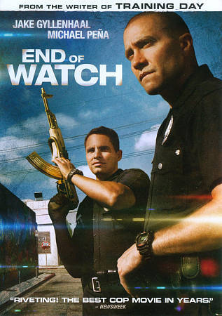 End Of Watch DVD, 2013  - $1.50