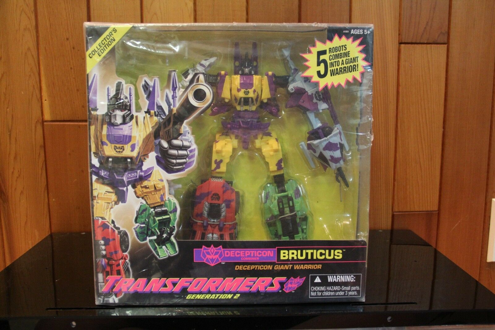 Transformers Generation 2 G2 Combaticons Bruticus Exclusive